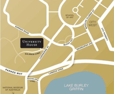 university house map
